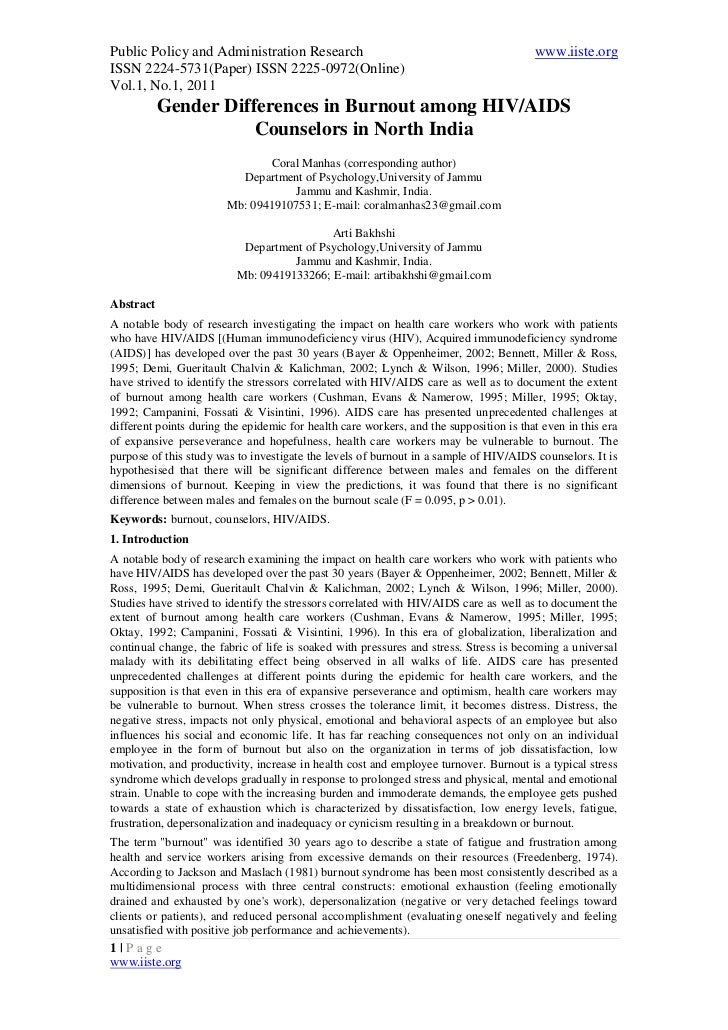 Public Policy and Administration Research                                               www.iiste.orgISSN 2224-5731(Paper)...