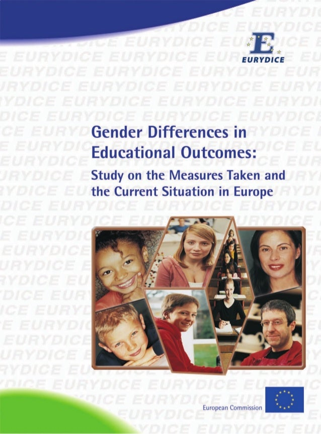 Gender Differences in Educational Outcomes in Europe 2010.