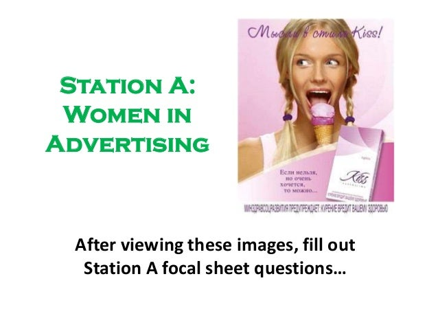 an analysis of the use of stereotypical portrayal of women in advertising Portrayal of women in advertising 2 abstract this research paper examines the portrayal of women in the media, especially in advertising over the years analysis was performed to explain how and to which point women are portrayed in the media, through stereotypes, double standards and sexual appeal.
