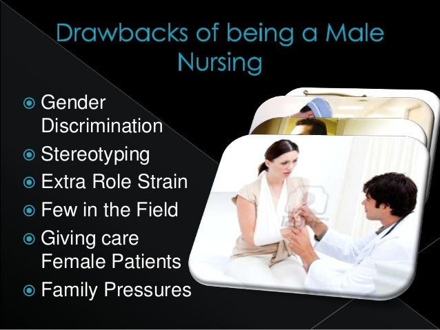 gender discrimination in nursing Gender discrimination in nursing: a literature review men not allowed no equal educational opportunities to men different learning experience female.