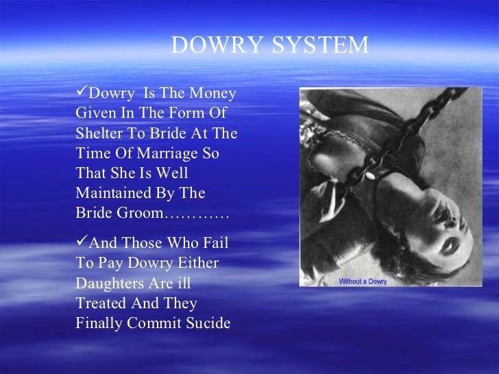 dowry problem in india essay