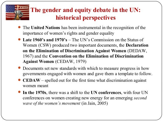 Gender equality essay topics