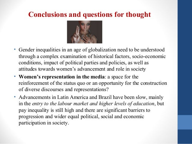 Question gender inequality