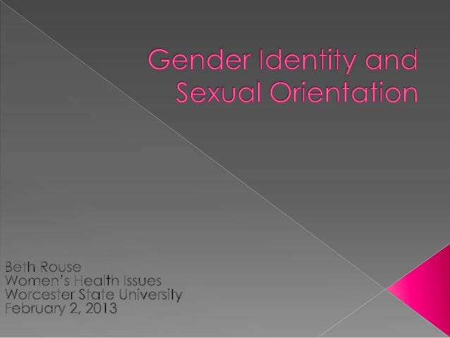    Gender Identity: How we identify our self based on psychological    identification   Gender Expression: The way we ex...