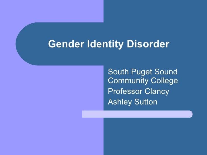 Gender identity disorder pp