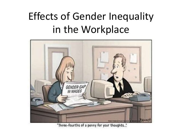 paper gender inequality in the workplace