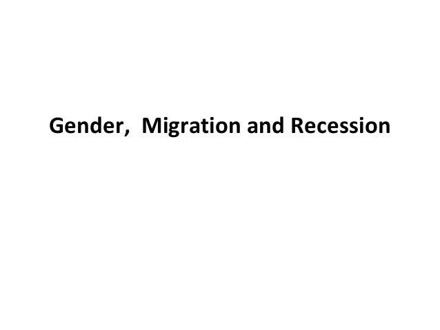Gender, migration and  recession - Ursula Barry, Women's Studies UCD School of Social Justice Nov 2013