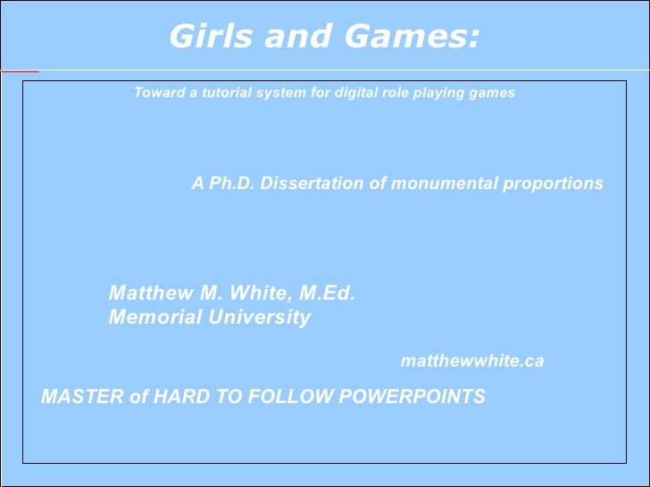 Gender Presentation CGSA
