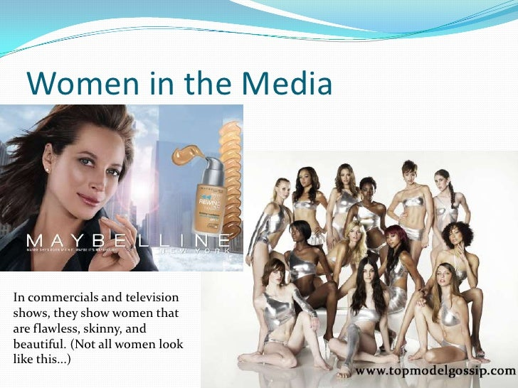 stereotyping women in the media Facilitate the compilation of a directory of women media experts promote the concept that the sexist stereotypes displayed in the media are gender discriminatory.