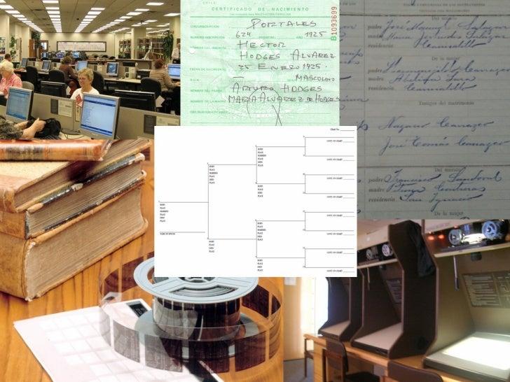 Genealogía en Chile: La técnica