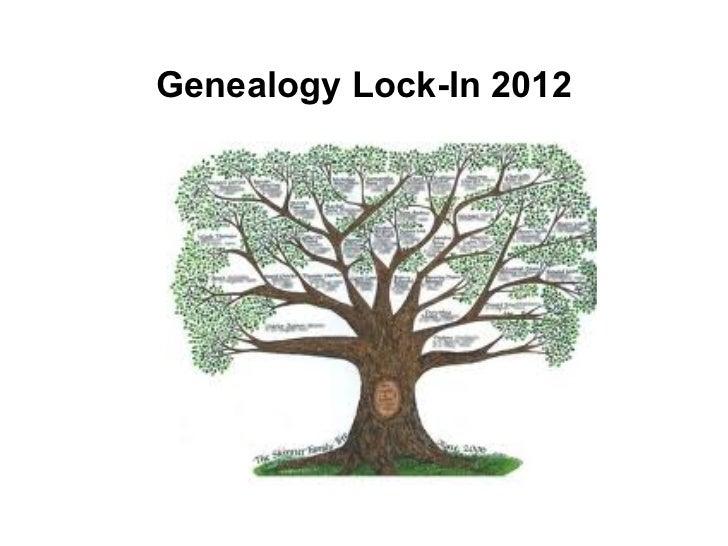Genealogy Lock-In 2012