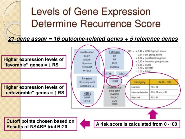 Expression Level Levels of Gene Expression