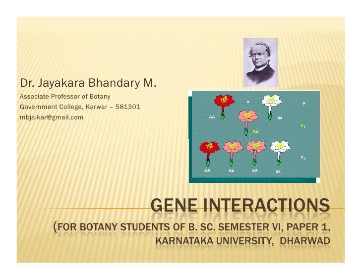 Dr. Jayakara Bhandary M.Associate Professor of BotanyGovernment College, Karwar – 581301mbjaikar@gmail.com                ...