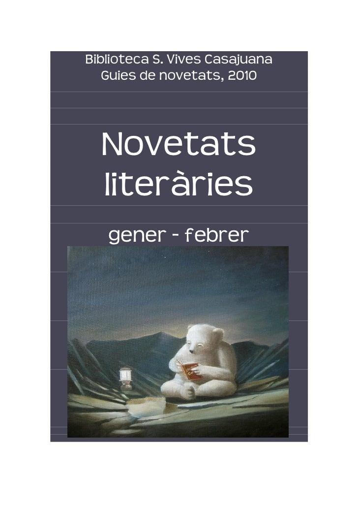 BibliotecaS.VivesCasajuana        Guiesdenovetats,2010                                                         ...