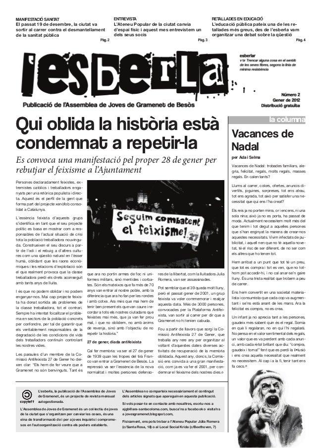 MANIFESTACIÓ SANITAT                                            ENTREVISTA                                                ...
