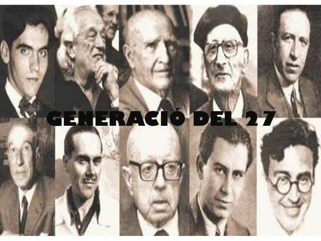 GENERACIÓ DEL 27