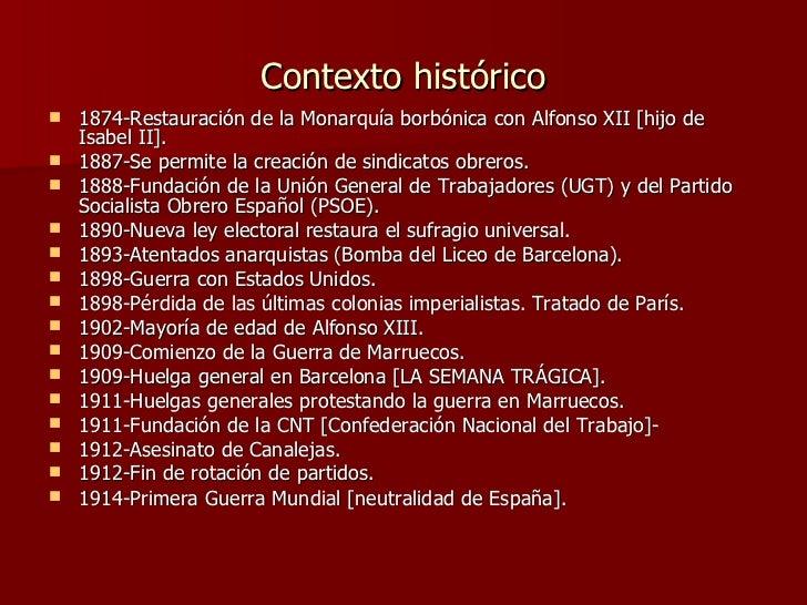Miguel de Unamuno contexto historico