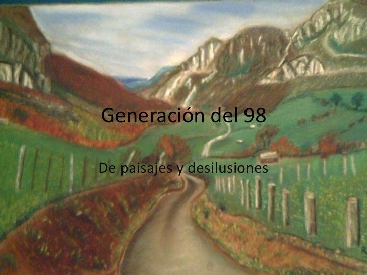 Generación 98