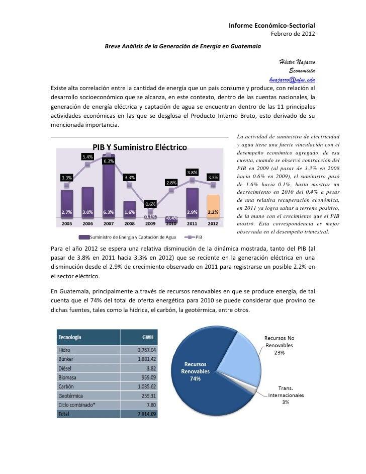 Informe Económico-Sectorial                                                                                   Febrero de 2...