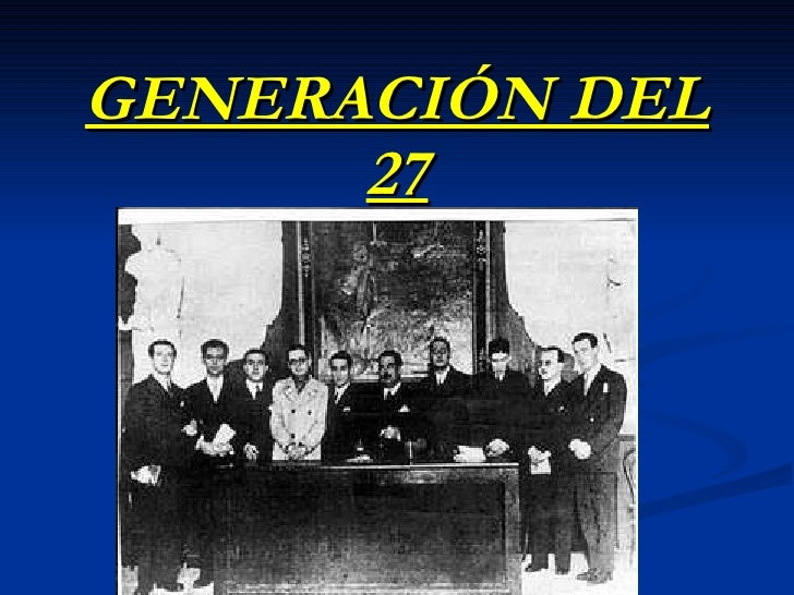 Generación del 27 power pinyt