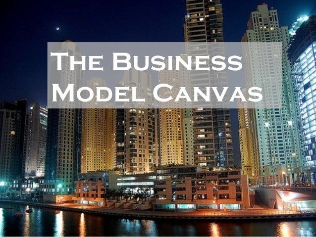 Generacion de modelo de negocio (business model canvas)
