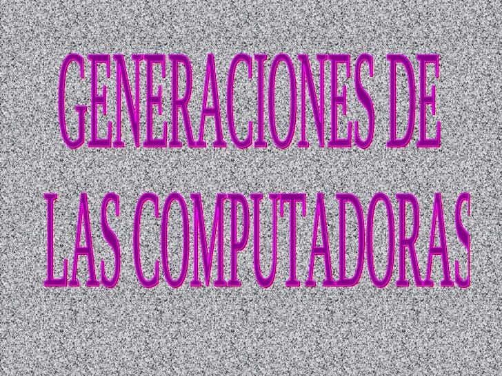 *PRIMERA GENERACION* (1951-1958).En esta generación había una gran desconocimiento de las capacidades de las computadoras....