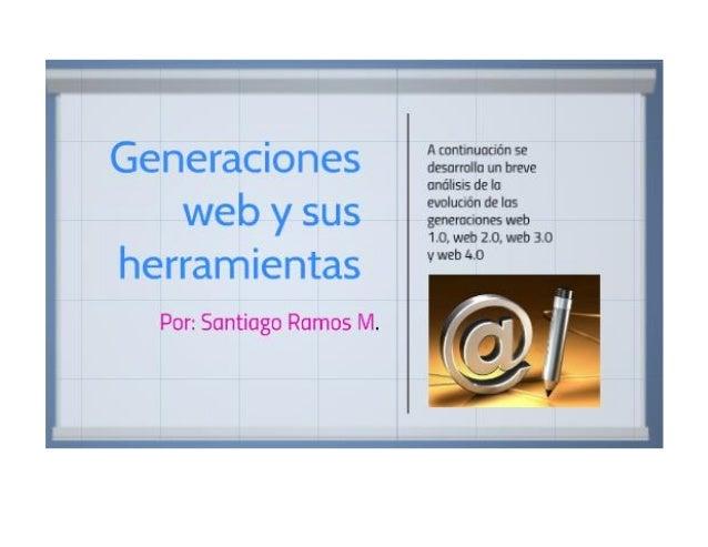 Generaciones web sr