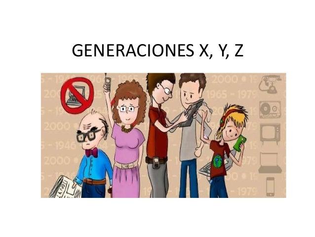 Generaciones x, y, z