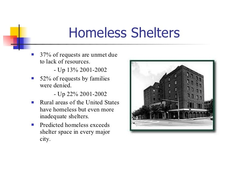 homelessness outline Views seven solutions to homelessness each is working somewhere else, and will save money and lives here.