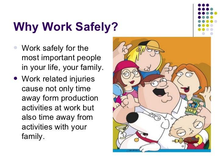 Safety presentation ideas for work