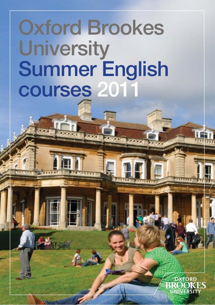 oxford creative writing course summer
