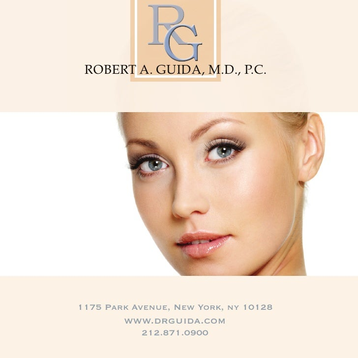 Dr. Robert A. Guida Facial Plastic Surgeon Overview of Procedures