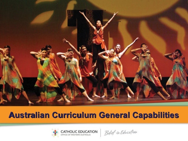 Australian Curriculum General Capabilities