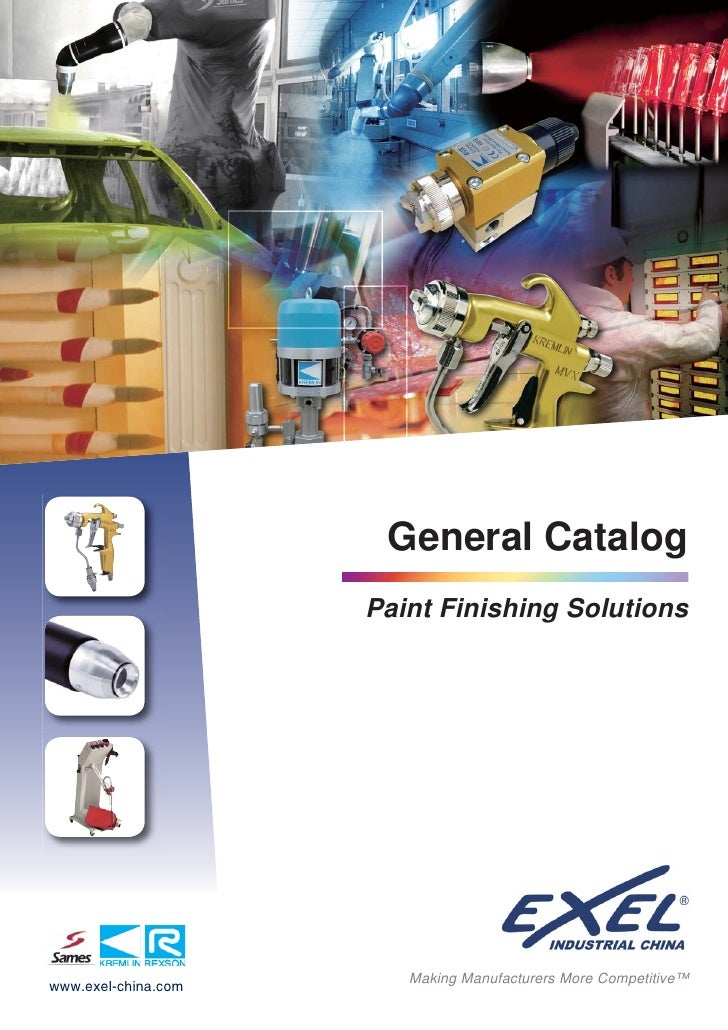 General Catalog                      Paint Finishing Solutions                             Making Manufacturers More Compe...