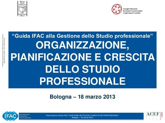 Generale Bologna 18 marzo 2013
