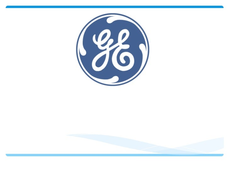 GENERAL ELECTRIC CAPÍTULO SIETE