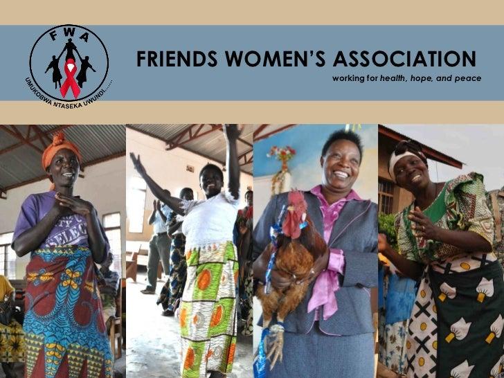 Friends Women's Association