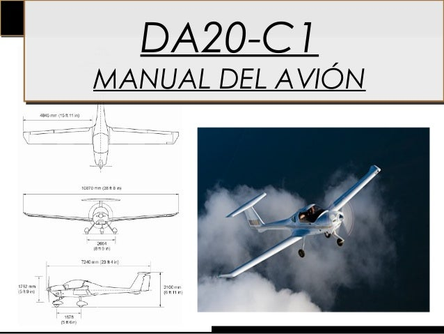 DA20-C1MANUAL DEL AVIÓN