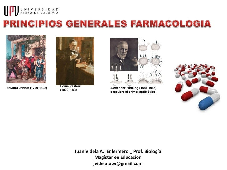 Generalidades farmacologia jva