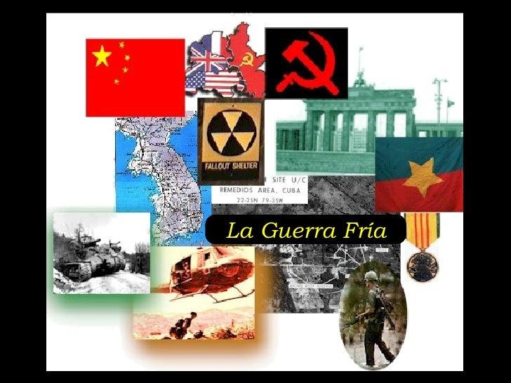 Generalidades Guerra Fria