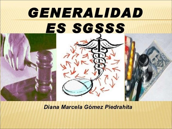 Generalidades SGSSS en Colombia