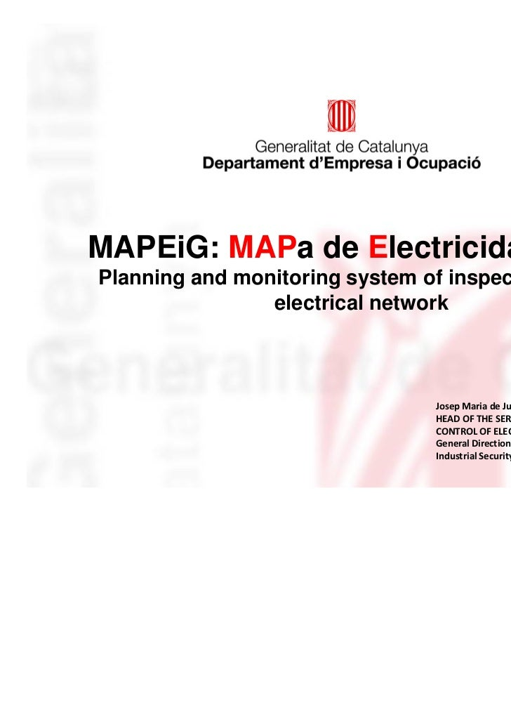 MAPEiG: MAPa de Electricidad y GasPlanning and monitoring system of inspections of the                electrical network  ...
