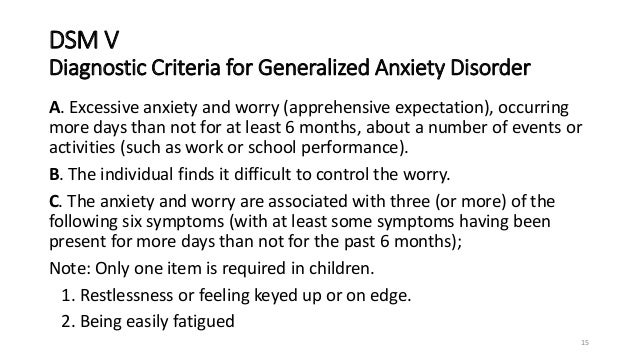 What Is Generalized Anxiety Disorder (GAD)
