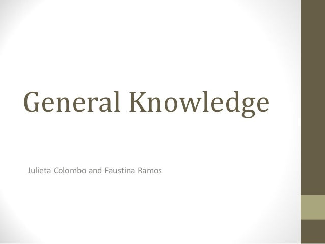 General KnowledgeJulieta Colombo and Faustina Ramos