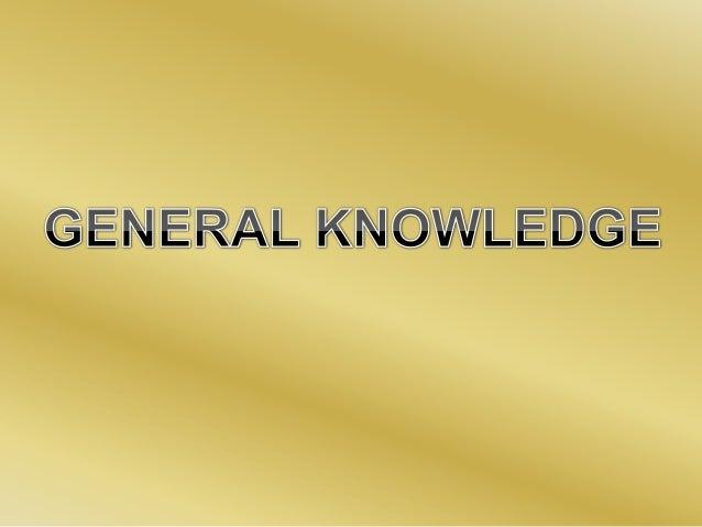 General knowledge agustín and matias
