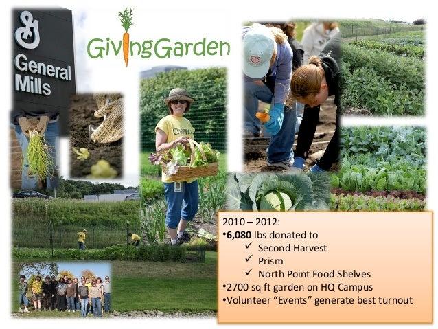 General Mills giving garden