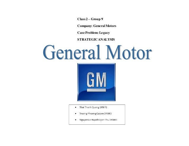 General motors case study 2015 General motors complaints