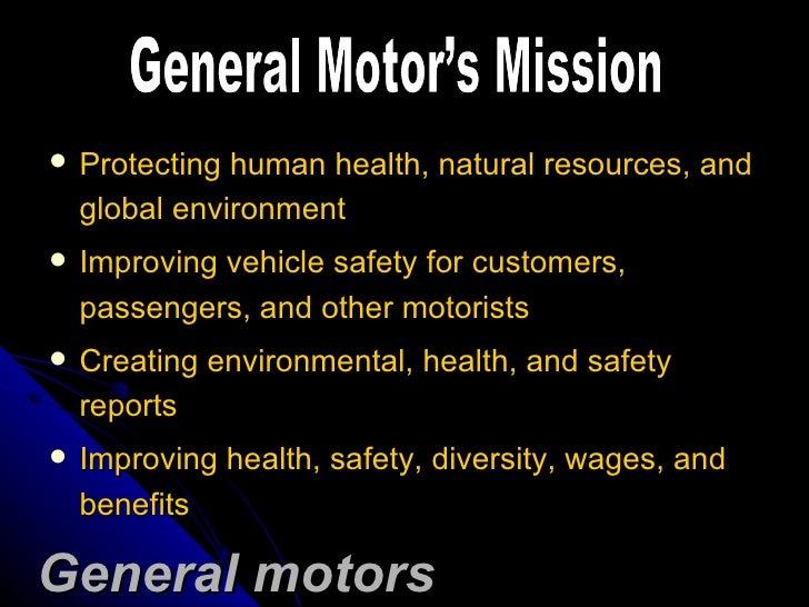 General Motors Strategic Management