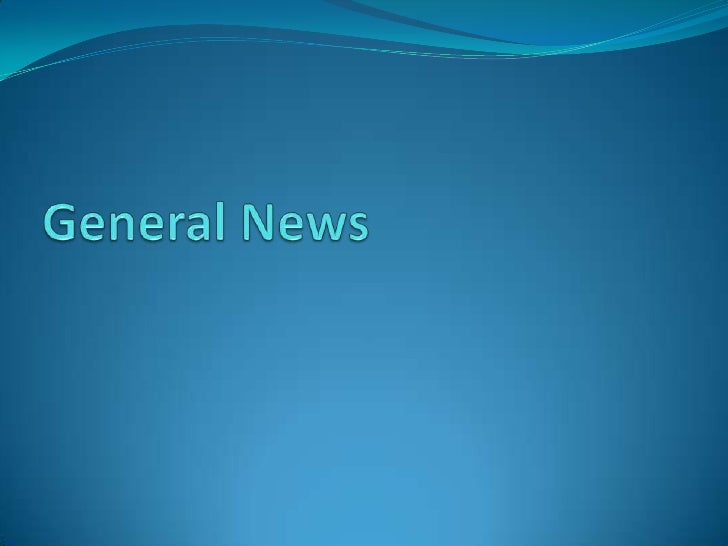 General News<br />