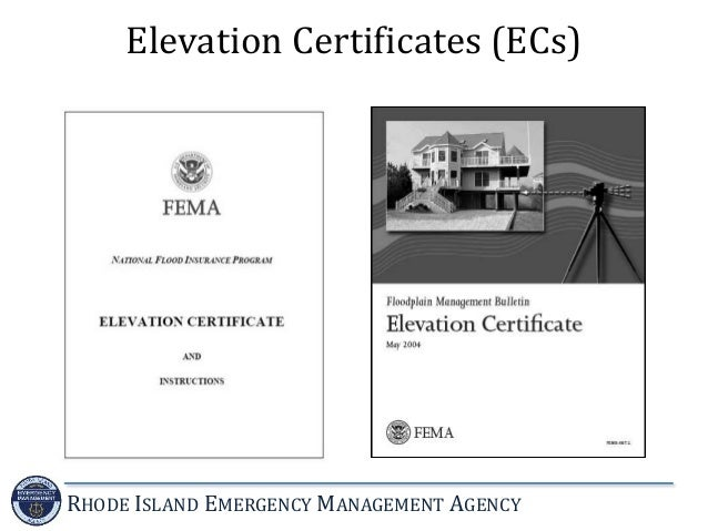 Lowest Floor Elevation Fema Form : Introduction to the national flood insurance program